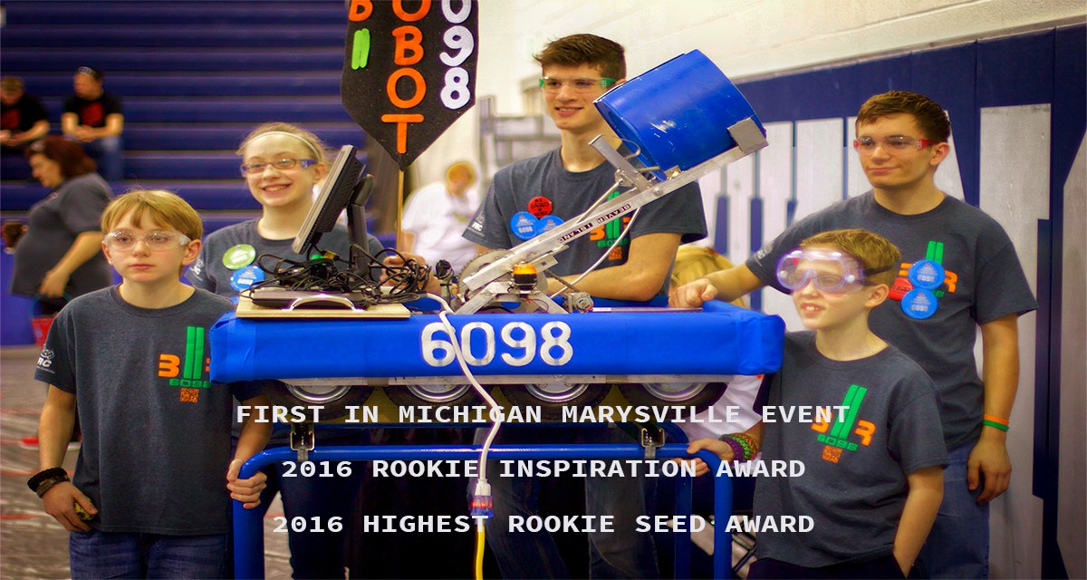 Congratulations BIROBOT – FIRST Robotics Marysville District Event