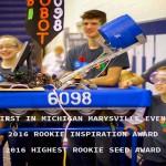 Congratulations BIROBOT – FIRST Robotics Marysville District Event