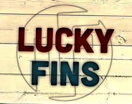 Lucky Fins Logo