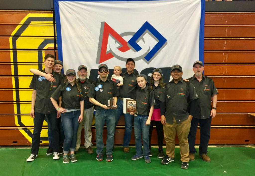 BIROBOT team spirit award