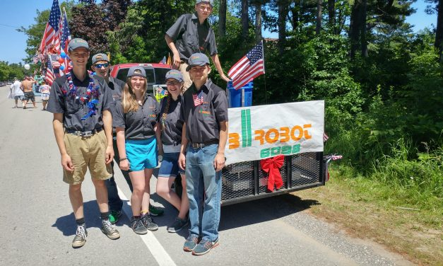 bIrobot Participates in Independence Day Parade