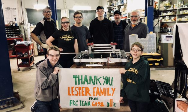 Team Receives Donation of Test Equipment & Parts