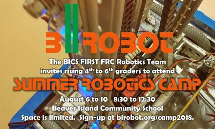 bIrobot Summer Robotics Camp 2018