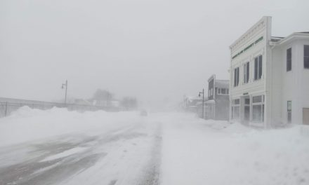Mars Sandstorm – Beaver Island Snowstorm