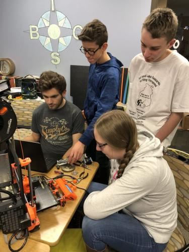 Student Workgroup 3D Printing